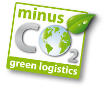 minus CO2 - green logistics
